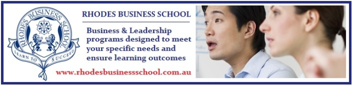 Rhodes Business School - Advert 2