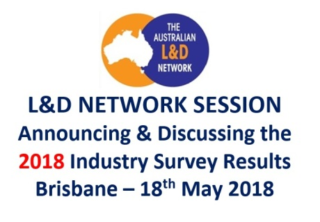Learning and Development Network Session - Industry Survey